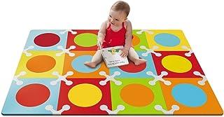 美国 SKIP HOP 地垫 爬行垫 游戏垫 鲜明12块 组合后尺寸 106.68*142.24*1.27(厘米)