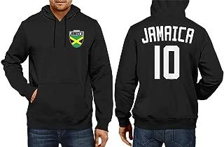 HAASE UNLIMITED Jamaica Soccer Jersey - Jamaican Unisex Hoodie Sweatshirt