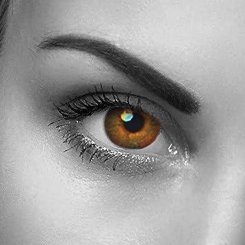 Die echt kontaktlinsen aussehen farbige Suche echt