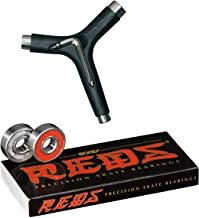Bones Reds Bearings W/Kata Black Skateboard Tool