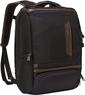 Professional Slim Junior Laptop Backpack with Leather Trim for Travel
