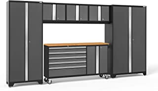 NewAge Products Bold 3.0 Gray 6 Piece Set, Garage Cabinets, 50202