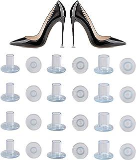 Protector de Tacón Alto, Tacos para Tacones, Protectores Zapatos de Mujer para Razas, Bodas, Ocasiones formales - Transparente