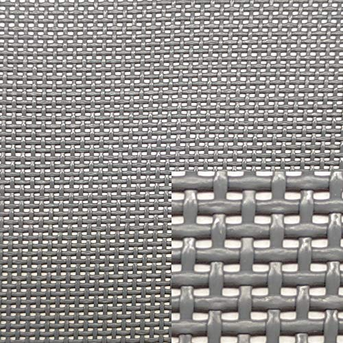 Siturep Textilene por Metro Lineal Ancho 70 cm (Gris Oscuro), cantidad = Metro Lineal
