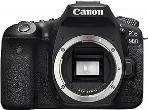 Canon EOS 90D Spiegelreflexkamera (32,5 Megapixel, 7,7 cm (3 Zoll), Bluetooth, Vari-Angle Touch Display, APS-C Sensor, 4K, Full-HD, DIGIC 8, WLAN) Gehäuse Body schwarz
