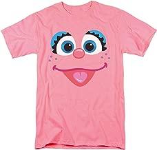 Sesame Street Abby Cadabby Face T Shirt & Stickers