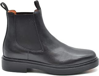 Santoni Luxury Fashion Mens Ankle Boots Spring