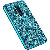 Uposao Glitter Coque pour One Plus 8 Pro,Paillettes Strass Brillante Bling Glitter,IMD Design Coque...