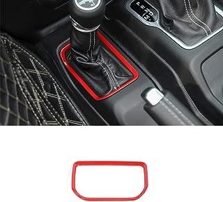 TOOGOO por Rav4 2019 2020 Car Styling Interior del Frente del Sostenedor de la Taza de Agua Cubierta de Pl/ástico Abs Accesorios para Autom/óviles