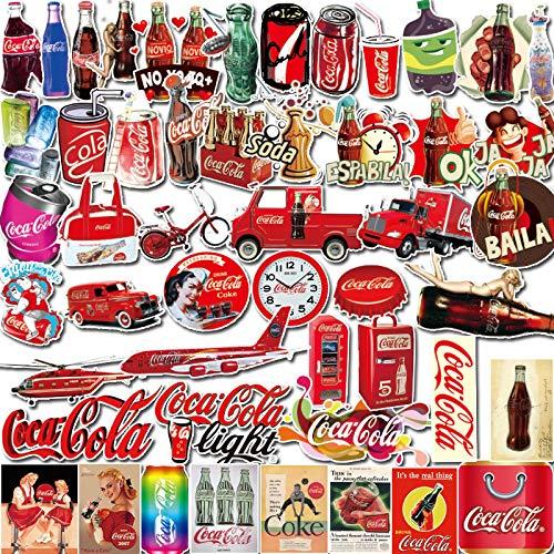 Più tardi Coke marea marca bagagli adesivi computer portatile trolley valigia skateboard chitarra frigorifero adesivi 50 PZ