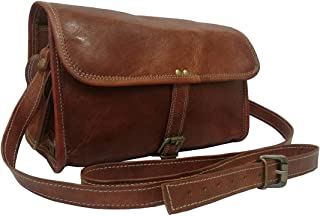 Madosh, Genuine Goat Leather Gym Duffle Shoulder Bag Mens Crossbody Holdall