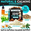 Hemp Calming Treats for Dogs - Stress and Anxiety Relief - 170 Soft Chews - Made in USA - Hemp Oil for Dogs - Natural Calming Aid - Separation - Stress - Storms - Fireworks | Aggressive Behavior #2