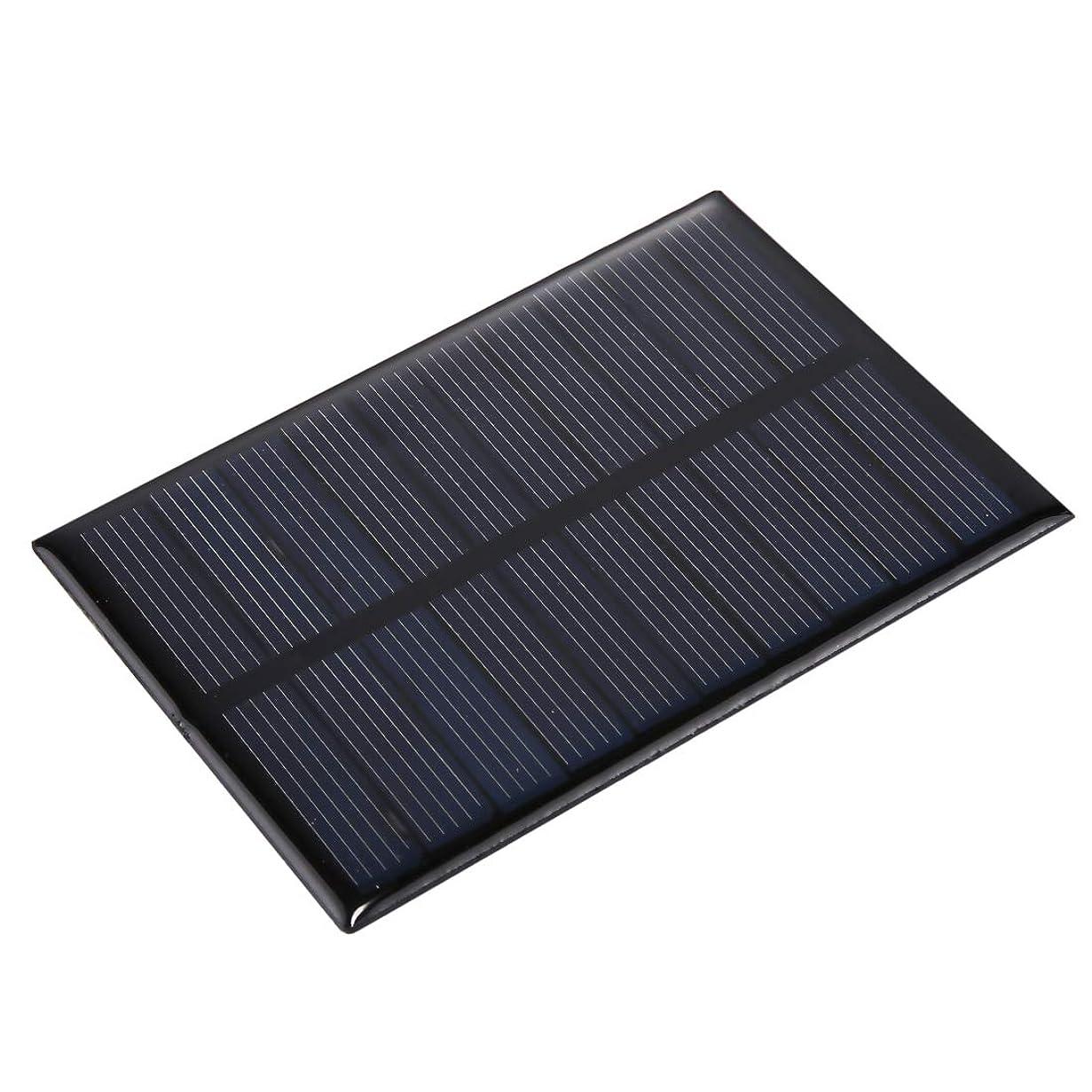 側溝警報司書ポータブル折りたたみソーラーパネル 5V 0.8W 150mAh DIY太陽電池モジュールソーラーパネルモジュール電池、サイズ:99x 69mm マウサー日本携帯用折りたたみソーラーパネル