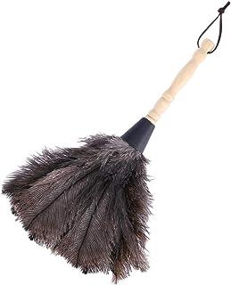 iplusmile ほこり取りオーストリッチフェザーダスターダチョウの羽箒柔らかい清掃用