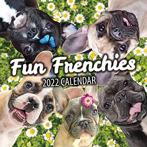 Fun Frenchies 2022 French Bulldog Wall Calendar