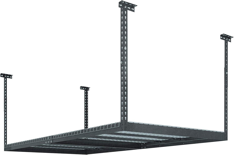 Max 41% OFF NEWAGE PRODUCTS VersaRac Gray 4' x Garage Long Beach Mall 8' Overhead Adjustable