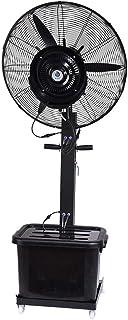 Jyfsa Ventilador de fábrica de 3 velocidades Ventilador frío Ventilador eléctrico Ventilador Industrial Ventilador de enfriamiento Niebla Spray Humidificador 42L Tanque de Agua 260W (Tamaño: 65cm)