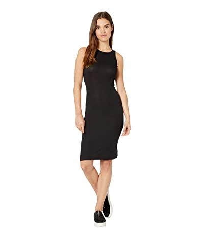 Splendid Knit Tank Dress (Black) Women