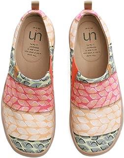 [UIN] 女性靴 キャンバス スリップ スリッポン 春靴 通勤用スニーカー ウォーキングシューズ 旅行 靴 ボウリングシューズ テニスシューズ ダンスシューズ 大きいサイズのレディースのシューズ
