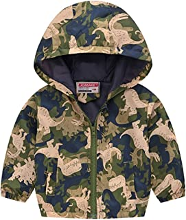 Mumustar Baby Boys Girls Winter Puffer Jackets Hooded Light Jacket Coats Outwear for Infants Kids Quilted Children Toddlers 0-4 Years