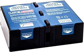APC Back-UPS RS 1300 LCD BR1300LCD Compatible Replacement Battery Pack RBC109 by UPSBatteryCenter