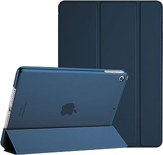 """ProCase iPad Mini 1 ケース iPad Mini 2 ケース iPad Mini 3 ケース 超薄型 軽量 スタンド機能 スマートカバー 半透明の背面カバー 7.9"""" Apple iPad Mini 1 Mini 2 Mini 3専用 –ネービー"""