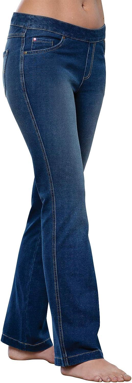 PajamaJeans Women's Bootcut Stretch Jeans Knit trust Outstanding Denim