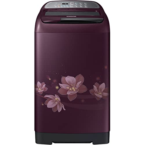 Samsung 6.5 kg Fully-Automatic Top Loading Washing Machine (WA65M4020HP/TL, Magnolia Plum)