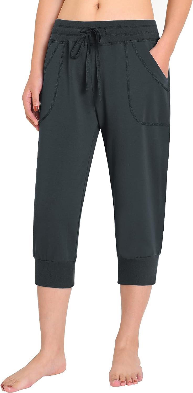 Cash special price Weintee Al sold out. Women's Capri Sweatpants Jersey Joggers