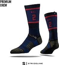 Strideline NBA Premium Athletic Crew Socks, One Size