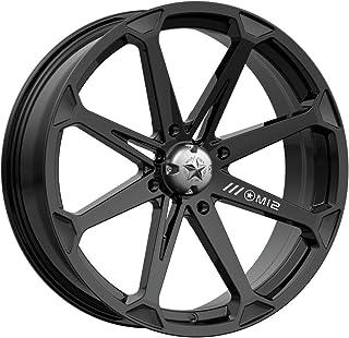 "MotoSport Alloys M12 Diesel Gloss Black ATV Wheel UTV Wheel (14x7""/4x137)"