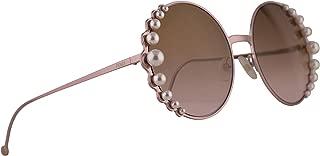 FF0295/S Sunglasses Pink w/Brown Gradient Lens 58mm 35J53 FF0295S FF 0295S FF 0295/S