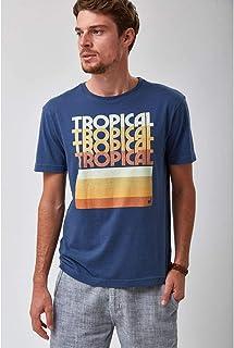 Camiseta Tropical - Marinho
