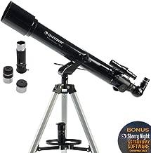 Celestron PowerSeeker AZ - Telescopio astronómico (70 mm de