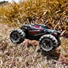 BEZGAR 5 Hobby Grade 1:20 Scale Remote Control Truck, 4WD High Speed 30+ Kmh All Terrains Electric Toy Off Road RC Monster Vehicle Car Crawler with Rechargeable Batteries for Boys Kids and Adults #3