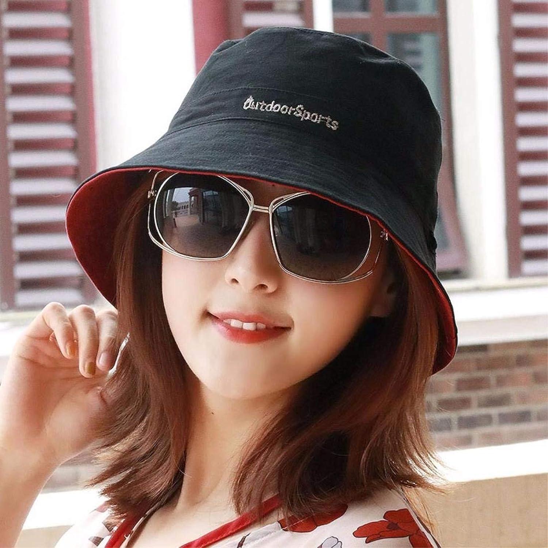 Beach Hat Men and Women General Cycling Hats Outdoor Basin Hat Fisherman Hat Sun Hat Hats Couple Hats Summer Sun Hat (color   Black)