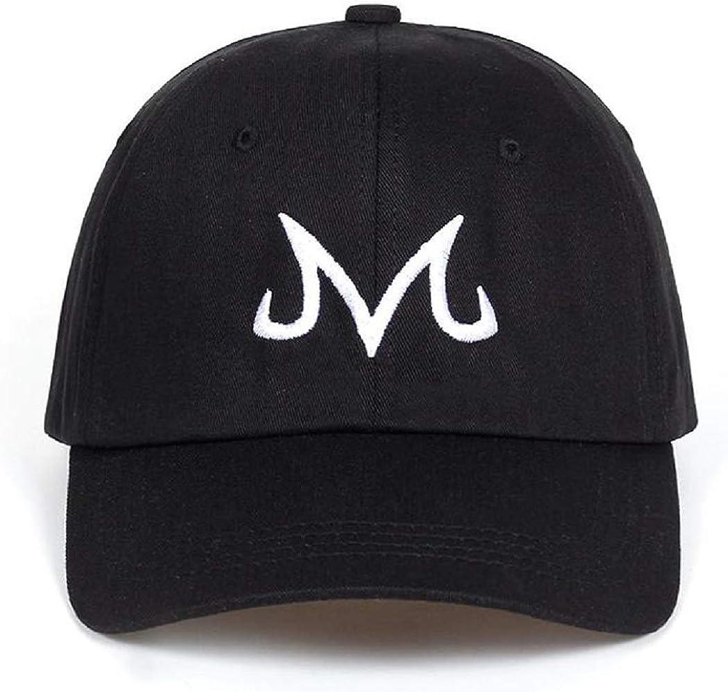 Jinhryu Majin Buu Dad Hat Snapback Cap Cotton Washed Baseball Cap for Men Women Hip Hop Dad Hat Golf caps