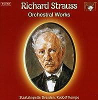R.シュトラウス:管弦楽曲集(9枚組)(Richard Strauss:Orchestral Works)