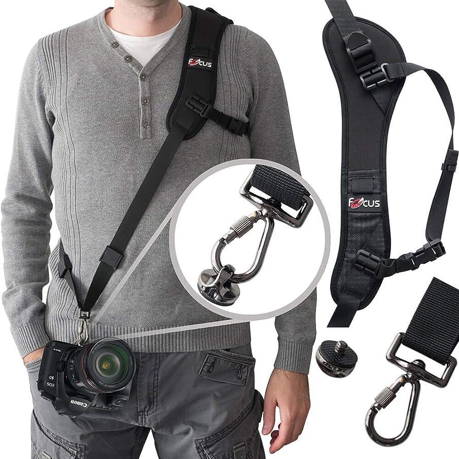 Camera Strap,Ocim Camera Sling Strap with Quick Release Plate, Adjustable and Comfortable Neck/Shoulder Belt for DSLR/SLR Camera (Nikon, Canon, Sony) Universal Belt