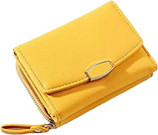 Cherryzon Yellow Faux Leather For Women - Card & ID Cases