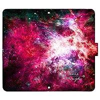 OPPO A73 ケース [デザイン:j.Nebula/マグネットハンドあり] 宇宙柄 オッポ 楽天モバイル a73 手帳型 スマホケース スマホカバー 手帳 携帯 カバー