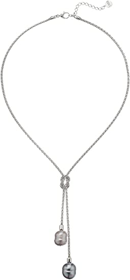 Majorica - 14mm Love Know Lariat Necklace
