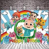漫画の家族のパーティーの背景子供たちお誕生日おめでとうパーティーカスタムバナー装飾写真スタジオに適した背景新生児ウェルカムパーティー用品バナー (7x5ft)