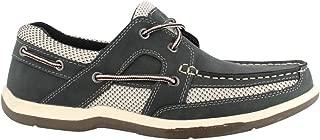 Island Surf Men's Company, Mast Boat Shoes Navy 10.5 M