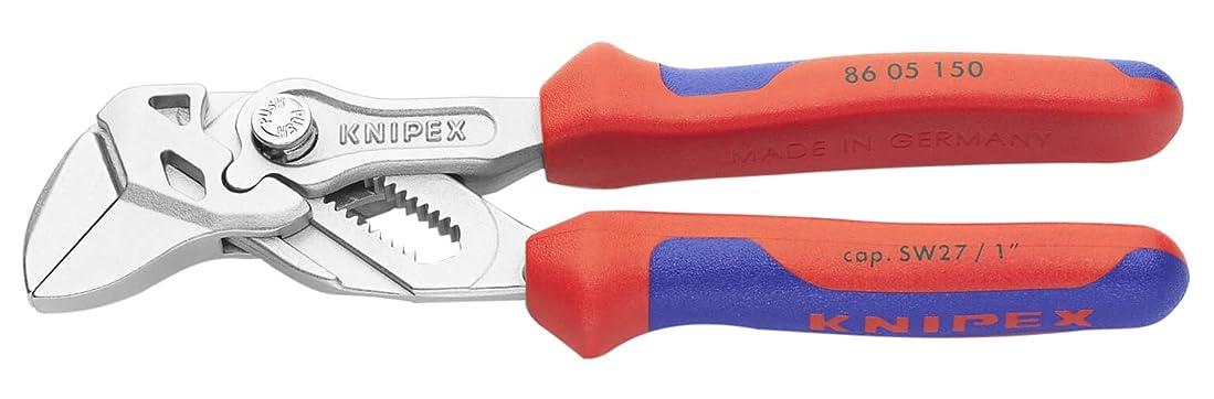 壮大夕暮れバッフルクニペックス KNIPEX 8605-150 プライヤーレンチ (SB)