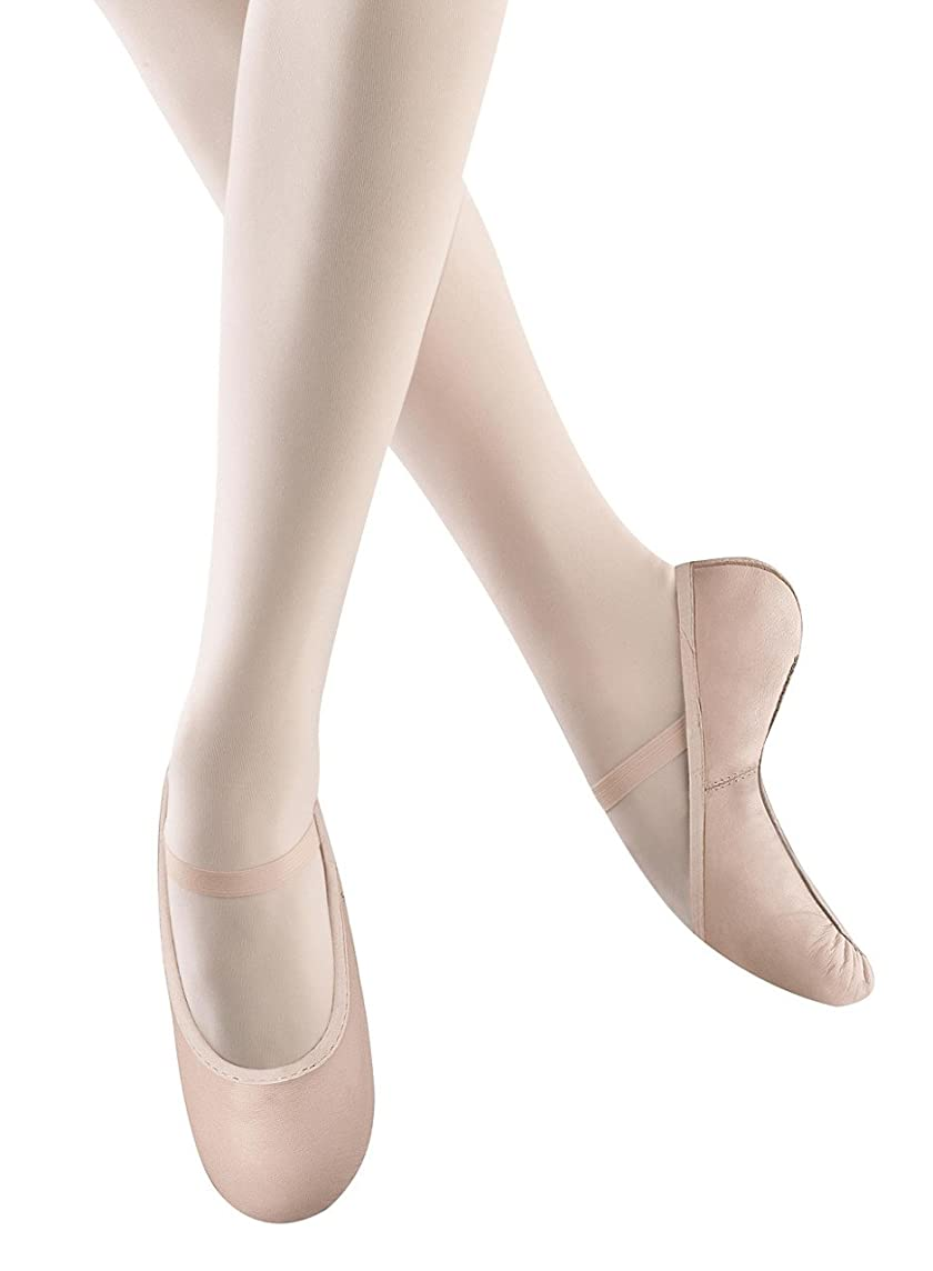 Bloch Dance Girl's Belle Full-Sole Leather Ballet Shoe / Slipper