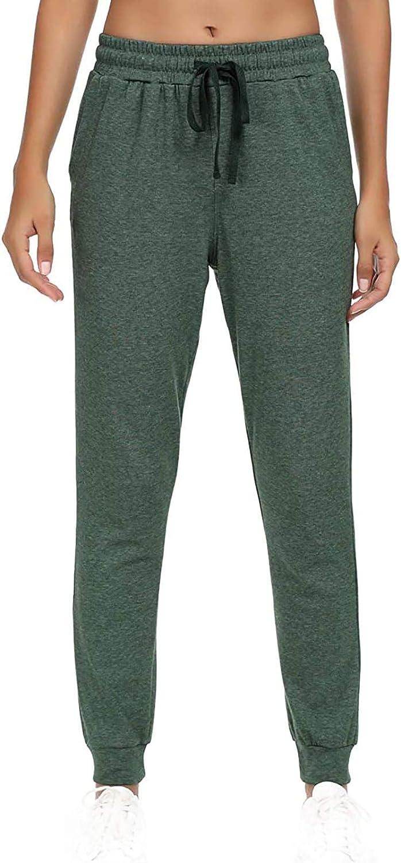 Uppada Women's Activewear Drawstring Waist Jogger Pants Workout Running Sweatpants Comfy Yoga Lounge Pants with Pockets