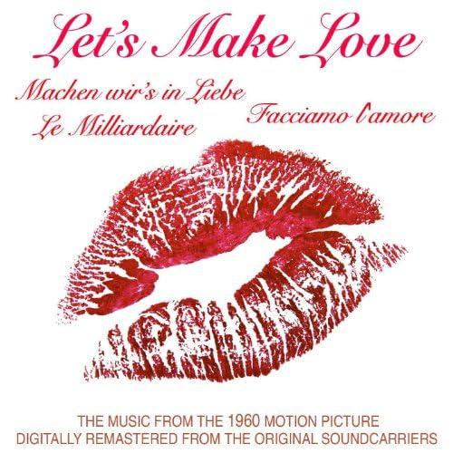 Marilyn Monroe, Frankie Vaughn & Yves Montand