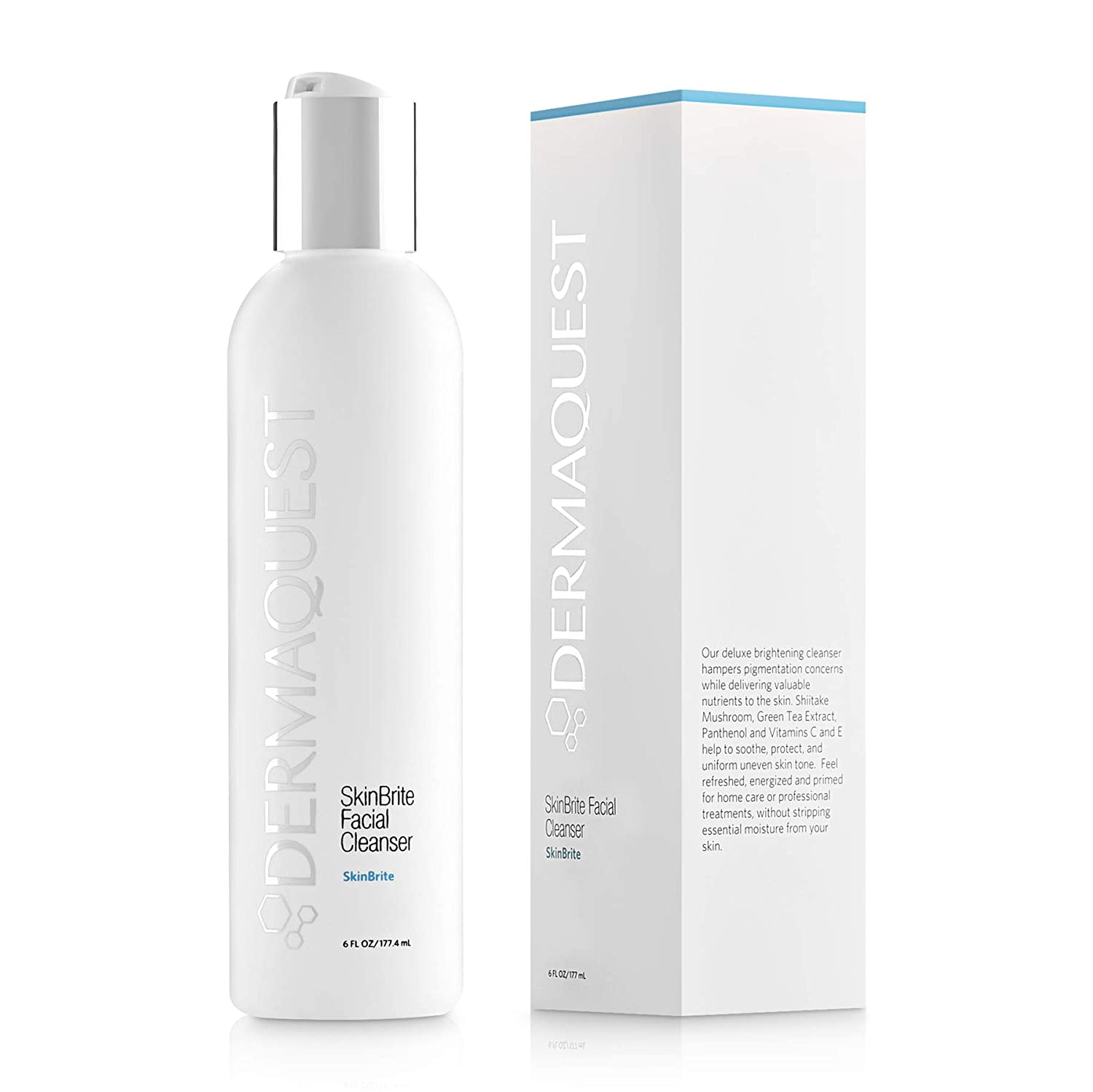 New mail order SEAL limited product DermaQuest SkinBrite Facial 6oz Cleanser