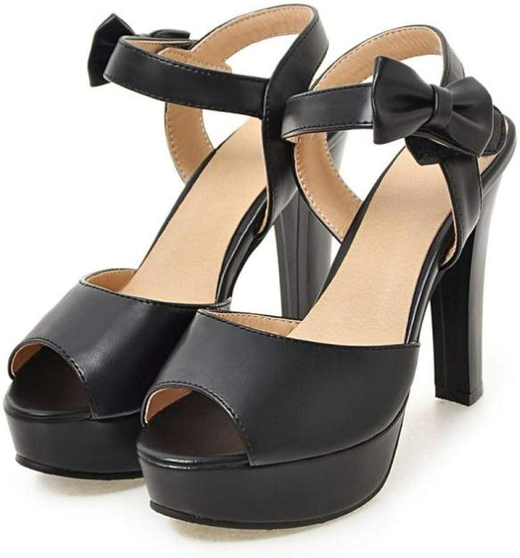 Women Sandals Lady High Heels Platform shoes Women Floral Open Toe Sandais Soft Hollow Out Footwear